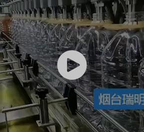 食用油自动灌装流水线